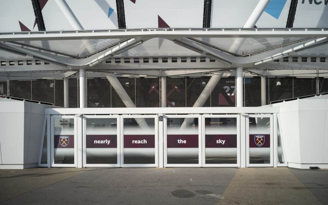 Webnet Frames på London Stadium