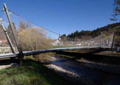 Unik gångbro med Webnet