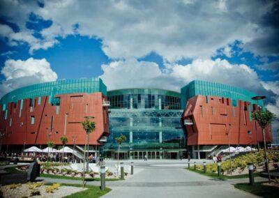 Baldakiner och vindar, Cuprum Arena Shopping Centre