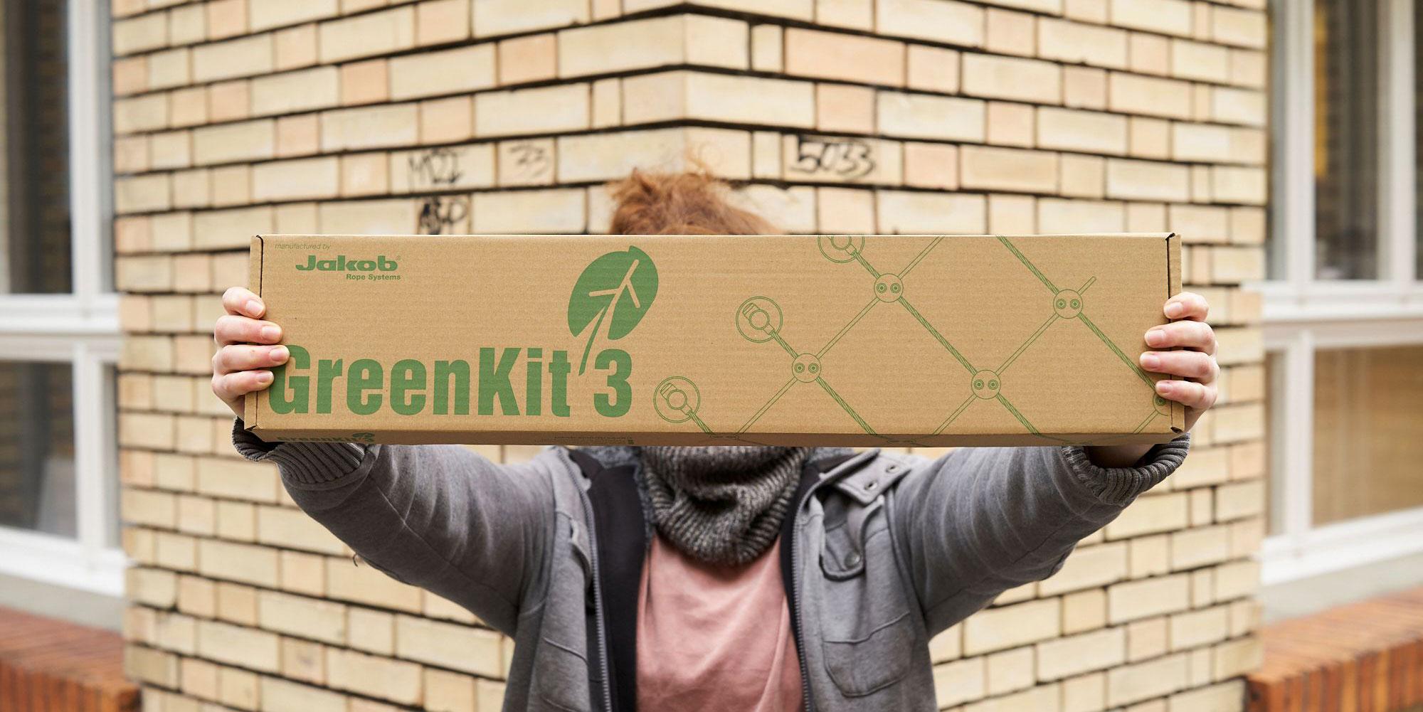 Jakob Rope systems GreenKit i mindre förpackning smaller package