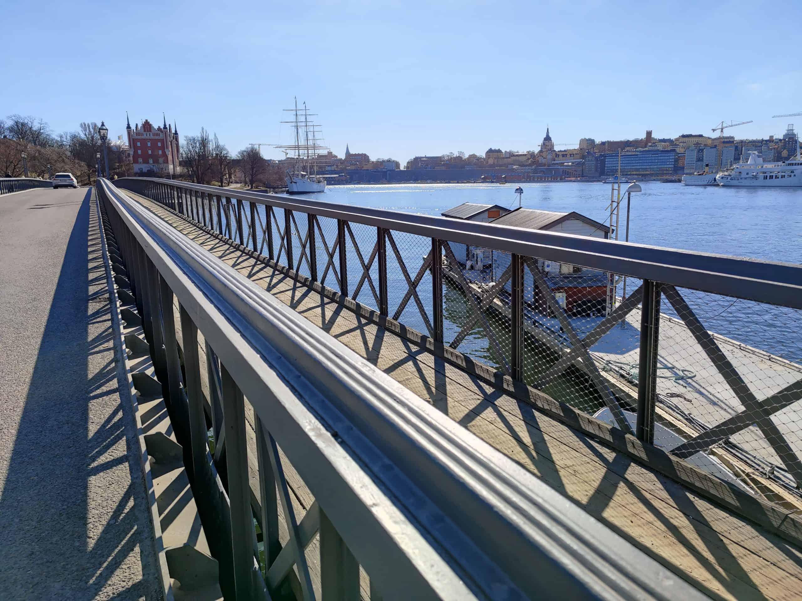 Brosäkerhet på skeppsholmsbron