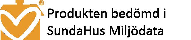 Sundahus miljödata bedömning logo