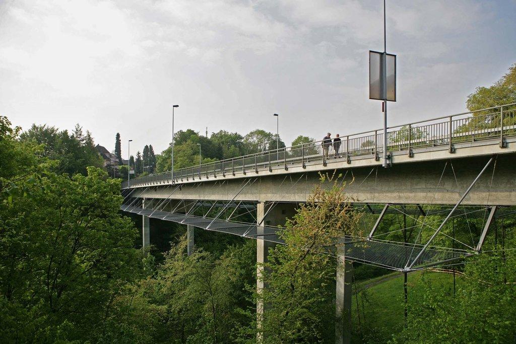 Jakob Rope Systems och Rotbach Bridge