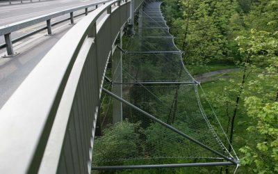Rotbach Bridge – Webnet fallskydd