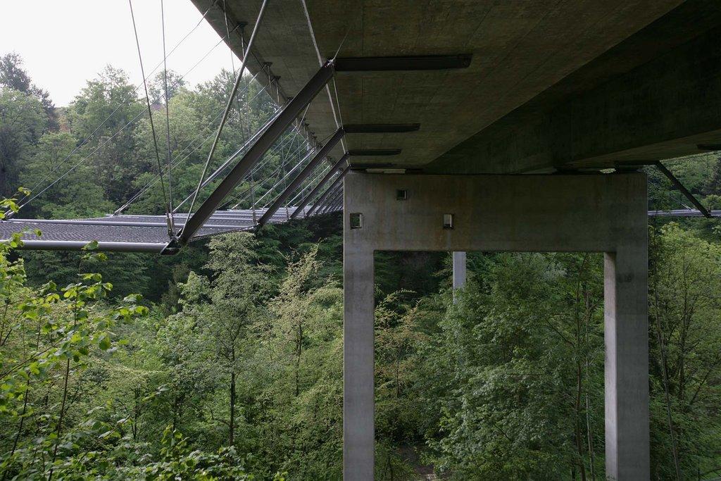 Fallskydd vid bro
