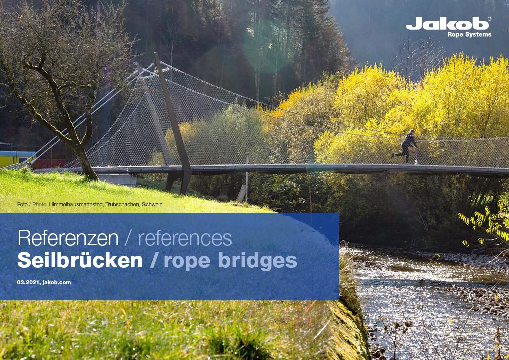 Webnet & Architectural Cable Rope bridges