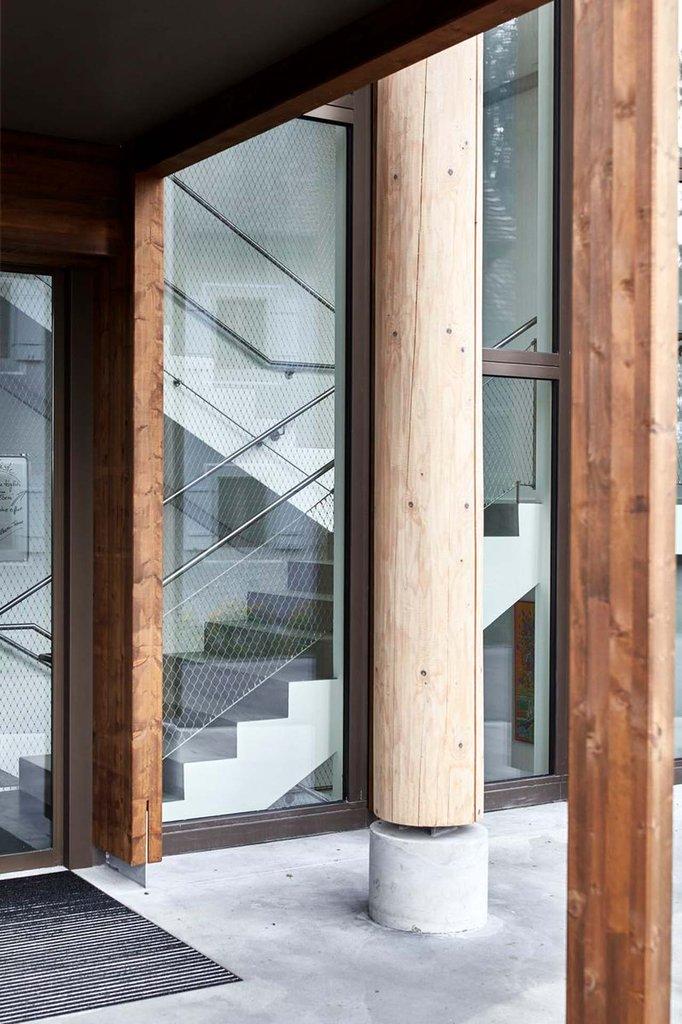 Arkitektoniska vajrar för lösning i trappor