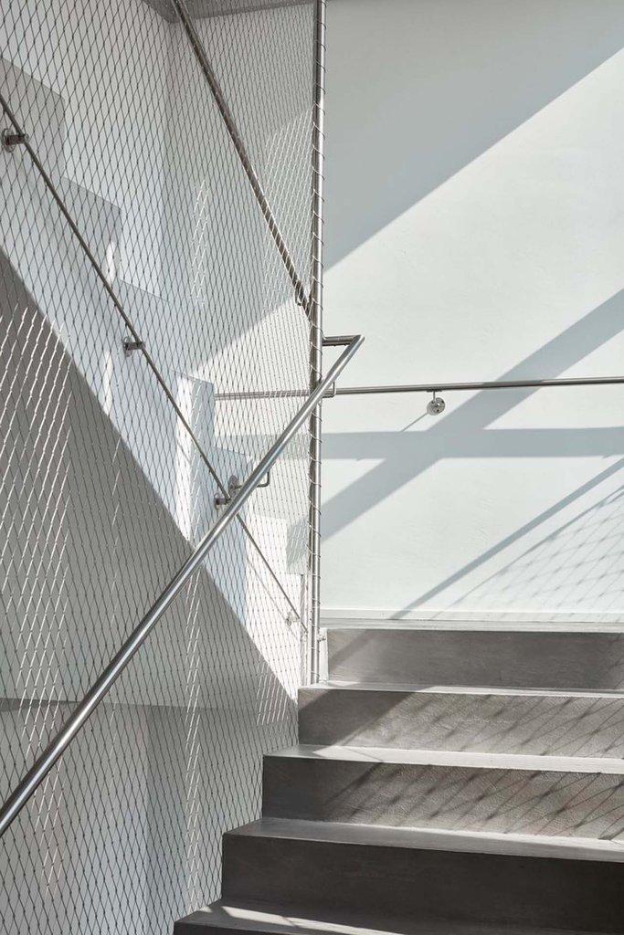 Elegant arkitektonisk lösning för trappor